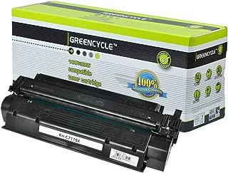 GREENCYCLE 1 PK Compatible C7115X 15X Black Laserjet Toner Cartridge Replacement for HP Laserjet 1000 1200 1220 3300 3310 3320 3330 3380 Series Printer