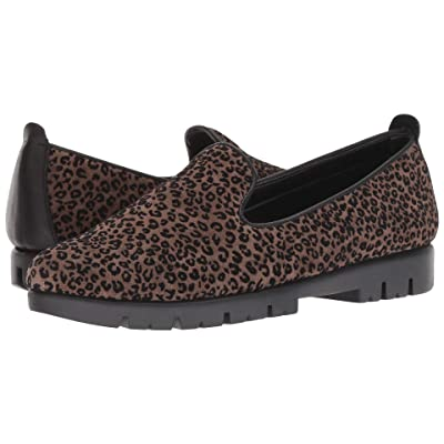 The FLEXX Smokinhot Plush (Sabbia/Black Flock Leo/Cashmere) Women
