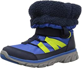 Stride Rite Boys' M2P Sneaker Snoot Snow Boot, Blue, 2.5 M US Little Kid