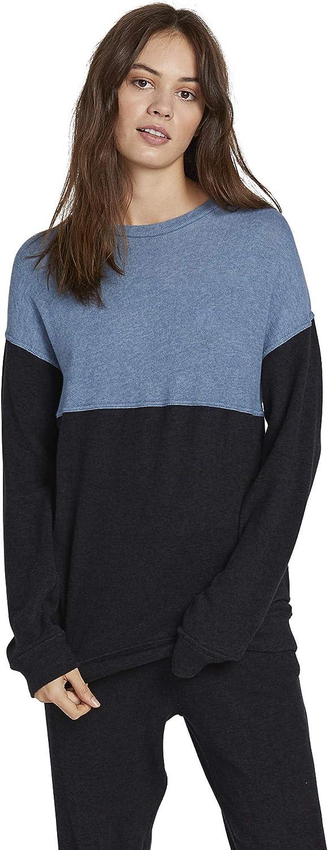 Volcom Women's Lil Crew Colorblock Sweatshirt