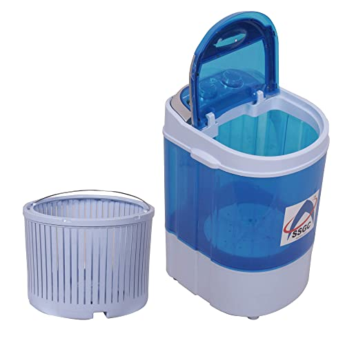 Shen shell Gradient Company Mini Washing Machine with Dryer Basket (3.5kg)