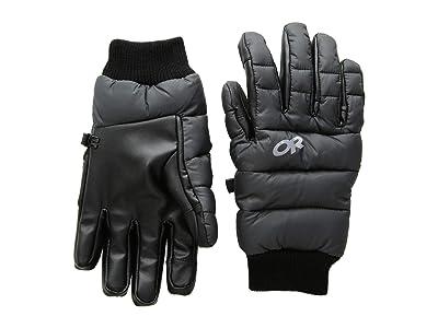 Outdoor Research Transcendent Down Gloves (Black) Ski Gloves