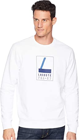 "Long Sleeve Heritage ""L"" Graphic Crew Neck Sweatshirt"