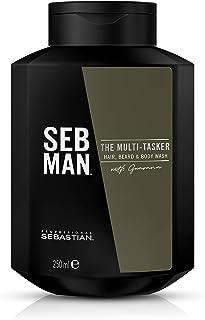 Seb Man The Multitasker – 3 en 1 – Hair Beard & Body Wash