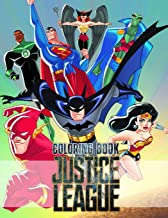 Justice League Coloring Book: Great 25 Illustrations for Kids