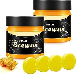 Bijenwas Polijstwas Voor Meubels Wood Seasoning Beeswax, Bijenwas Voor Houten Tafels, Stoelen, Kasten, Polijstpasta, Meube...