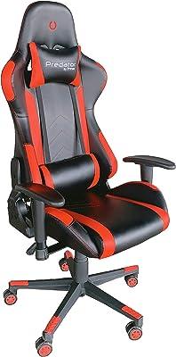 PRIXTON Predator Gaming Chair (Rosso)