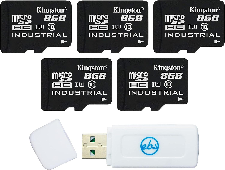 Kingston Industrial Micro SD 8GB Regular discount Bulk Pack High Bombing new work Memory 5 Grade