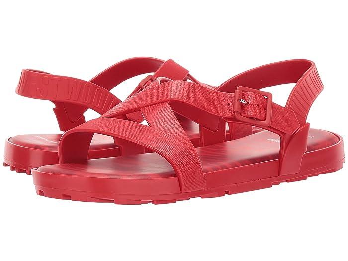 x Vivienne Westwood Hermanos Flat Sandal Red