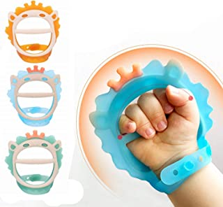 Sponsored Ad - 3 pcs Baby Teething Toys for 0-6 and 6-12 Months Teethers for Infants,BPA-Free, Eco-Friendly Non-Toxic Sili...