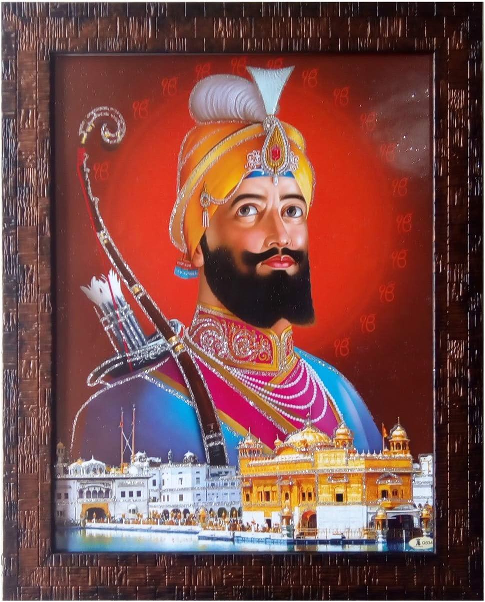 Shree Handicraft Guru Atlanta Mall Govind Singh ji New arrival Deco Frame for Photo Home