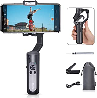 Hohem iSteady X - 3-Axis 259g Lightweight Smartphone Gimbal Foldable Handheld Pocket Stabilizer Youtuber Vlogger Live Video for iPhone 11 Pro Max X XS, Android
