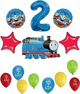 Thomas The Tank Engine Train 2nd Happy Birthday Balloon Set