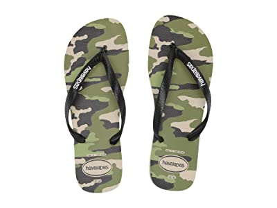 Havaianas Top Camo Sandal (Beige/Black) Men