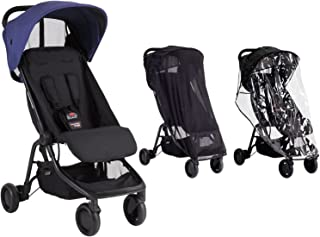 Mountain Buggy Nano With Storm Cover and Sun Cover (Nautical)