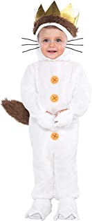 Where the Wild Things Are Classic Max Costume for Babies, Size 12-24 Months, Includes a Hood and a Tail