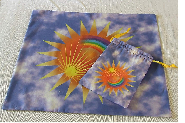 Tarot Set - Cloth or Bag Plus Special sale item Matching 35% OFF Rainb Altar