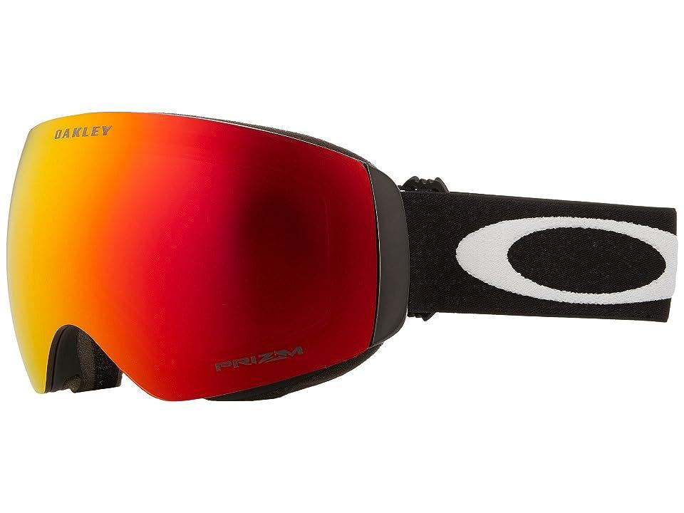 Oakley Flight Deck XM (Matte Black/Prizm Torch Iridium) Sport Sunglasses