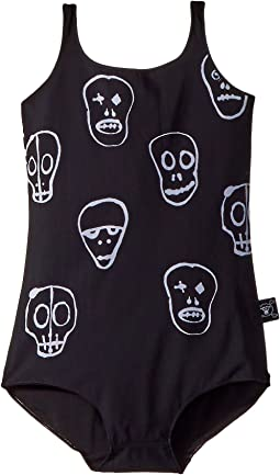 Nununu - Skull Mask Swimsuit (Little Kids/Big Kids)