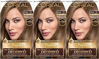 L'Oréal Paris Superior Preference Fade-Defying + Shine Permanent Hair Color, UL61 Hi-Lift Ash Brown, 3 COUNT Hair Dye
