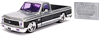 JADA Toys 20TH Anniversary- Big TIME KUSTOMS - '72 Chevy Cheyenne DIE CAST 1:24 Scale Bare Metal