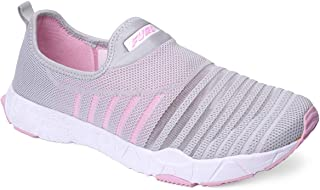 FURO by Red Chief Silver Sport Running Shoes for Women's (L9010 C050)