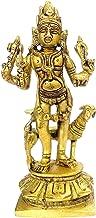 Worth Praize Brass Idol Kaal Bhairava (Mahakala Bahirav): Hindu Tantric Deity, Avatar of Siva