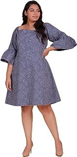Lastinch Women's Casual Denim Dress