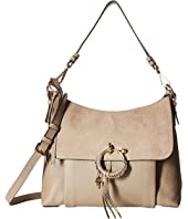 See by Chloe - Medium Joan Suede & Leather Shoulder Bag