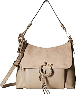 1f8e807799f2d Search Results. Luxury. Motty Grey. 50. See by Chloe. Medium Joan Suede &  Leather Shoulder Bag