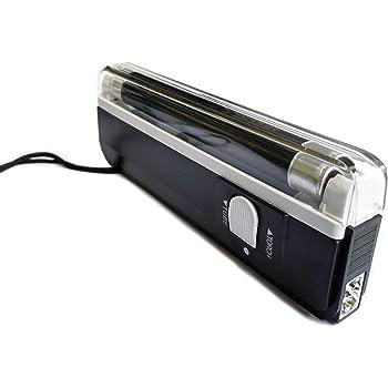 2 Stuck Im Set Mobiler Geldscheinprufer Uv Mini Plus Mit 4 Watt Starker Uv Lampe Und Taschenlampenfuktion Amazon De Burobedarf Schreibwaren