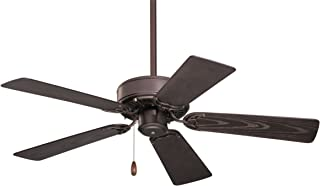 Emerson Ceiling Fans CF742PFORB Summer Night Indoor Outdoor Ceiling Fan, Damp Rated, 42-Inch Blades, Light Kit Adaptable, Oil Rubbed Bronze Finish