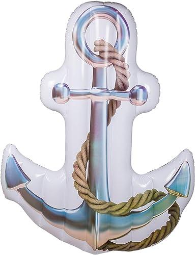 garantizado MIK funshopping Anker Anchor - Colchón Colchón Colchón Hinchable (182 x 139 cm)  cómodamente