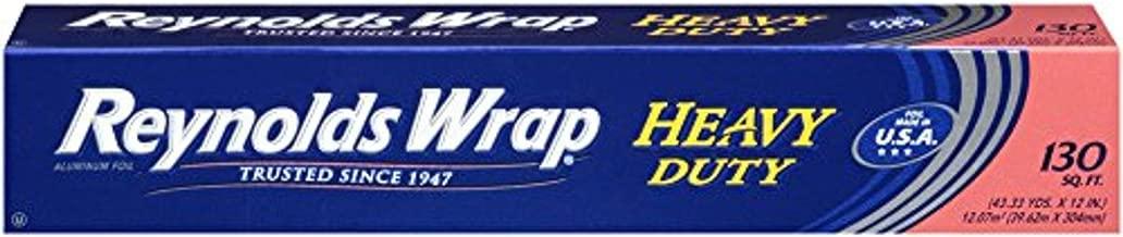 Reynolds Wrap Heavy Duty Aluminum Foil, 130 Square Feet