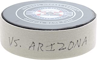 Florida Panthers Game-Used Puck vs. Arizona Coyotes on March 21, 2019 - Fanatics Authentic Certified