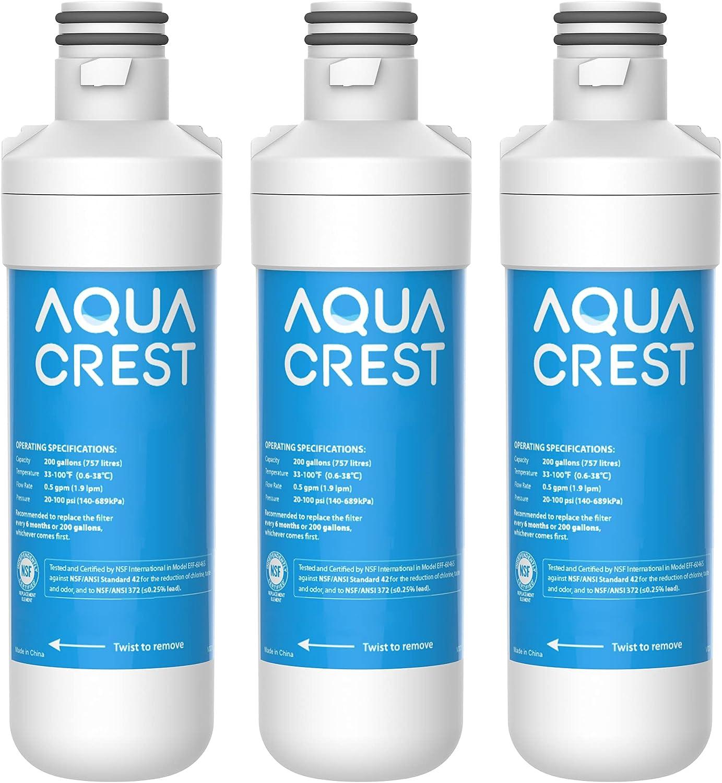 AQUACREST LT1000PC ADQ747935 MDJ64844601 Certified Mail order SEAL limited product cheap Refrigera NSF