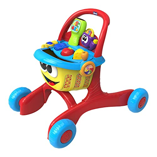 0844eb8f93aa Chicco Happy shopper 3 in 1 First Steps Activity Walker and Shopping Trolley