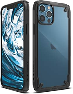 Ringke Fusion-X Compatible with iPhone 12 Case (2020) Clear Rugged iPhone 12 Pro Cover, Military Grade Protective TPU Bump...