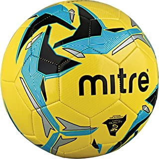Mitre Indoor V7 Sports Soccer Ball Match Quality and Size For 3-G Laminate Artificial Surface