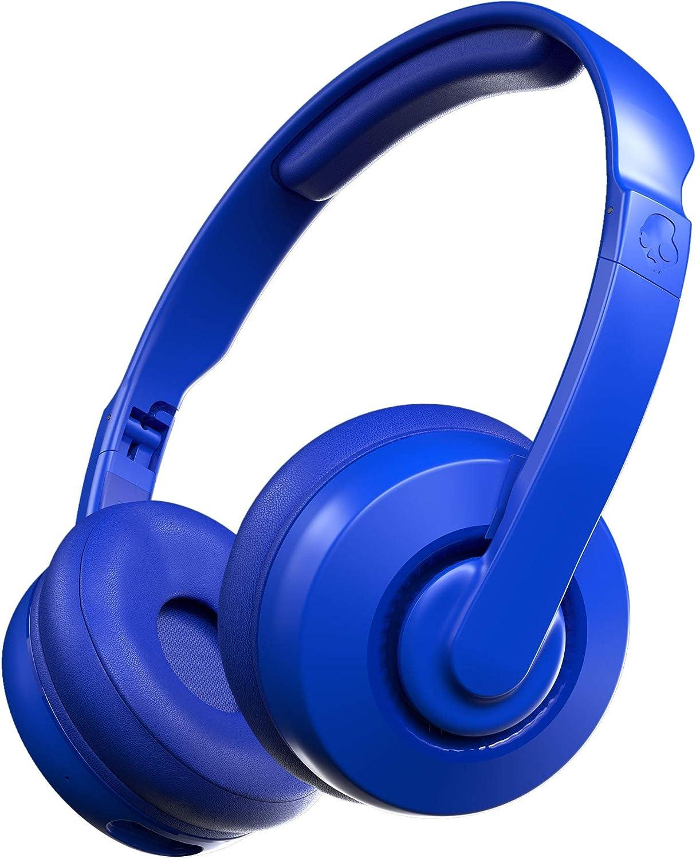 Skullcandy Cassette Sales results No. 1 Wireless Over-Ear Headphone - Max 58% OFF Blue Cobalt