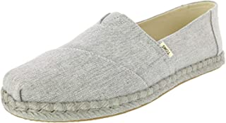 TOMS Alpargata, Women's Shoes, Grey, 6.5 UK (39 EU)