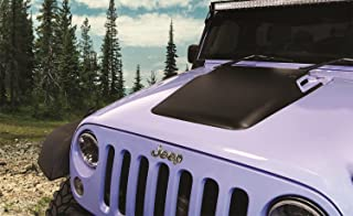 Daystar, Jeep JK Wrangler Hood Cowl, reduce under hood temperatures, Black, fits 2007 to 2017 2/4WD, KJ71050BK, Made in America