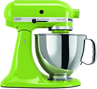KitchenAid KSM150PSGA Artisan Series 5-Qt. Stand Mixer with Pouring Shield – Green Apple