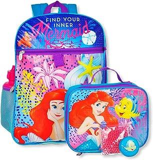 Little Mermaid 5-Piece Backpack Set