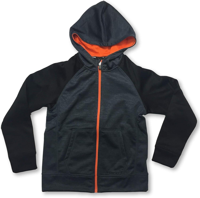 HEAD Boys' Full Zip Hoodie Jacket Cool