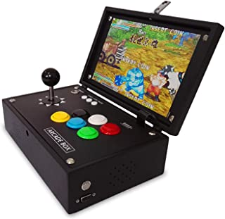 Nostalgic Mini 10 inch Portable Arcade Video Game 1388 in 1 Retro Games Pandora 6S Arcade Machine Home Flip Arcade 1280x720 HD Support PC/PS Game