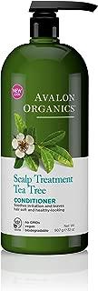 Avalon Organics Scalp Treatment Tea Tree Conditioner, 32 oz.