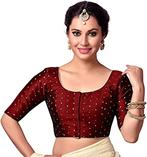 b831ce652f Amazon.in: Reds - Blouses / Ethnic Wear: Clothing & Accessories