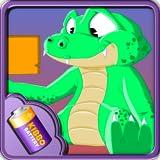 [Kibbo Battery Theme] Crocodile Battery - Widget