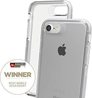 Gear4 IC7083D3 Piccadilly Case with Advanced Impact Protection [ Protected by D3O ], Slim, Tough Design for iPhone 7/8 –, Piccadilly - Silver